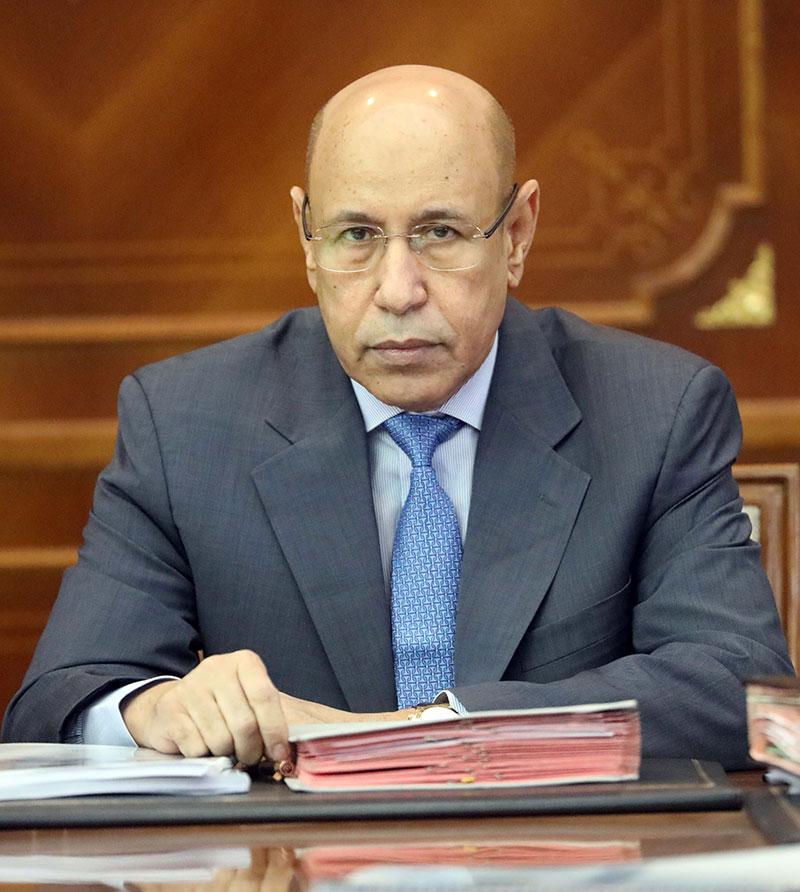 الرئيس الموريتاني محمد ولد الغزواني