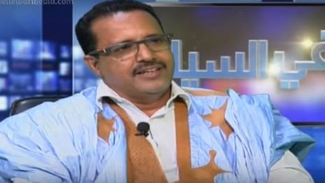 رئيس لجنة الأزمة في مجلس الشيوخ وشيخ مقاطعة باسكنو الشيخ ولد حننا