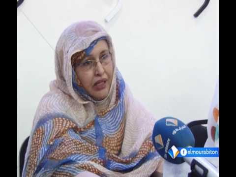 عضو مجلس الشيوخ الموريتاني المعلومة بنت الميداح