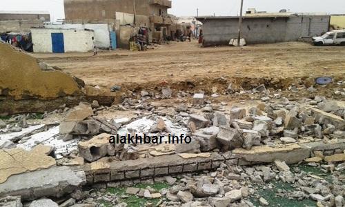 سقطت أجزاء واسعة من الملعب اليتيم في العاصمة الاقتصادية/ الأخبار