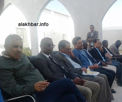 حضر اللقاء كبار المديرين في سلطة المنطقة الحرة / الأخبار