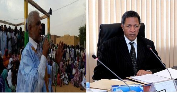 رئيس مجلس الإدارة السابق محمد شريف، ورئيس مجلس الإدارة الحالي كابه ولد اعليوه