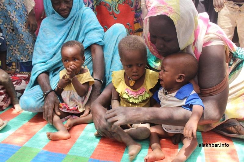 أطفال في قرية شرواطة التابع لمقاطعة جكني بولاية الحوض الشرقي (الأخبار)