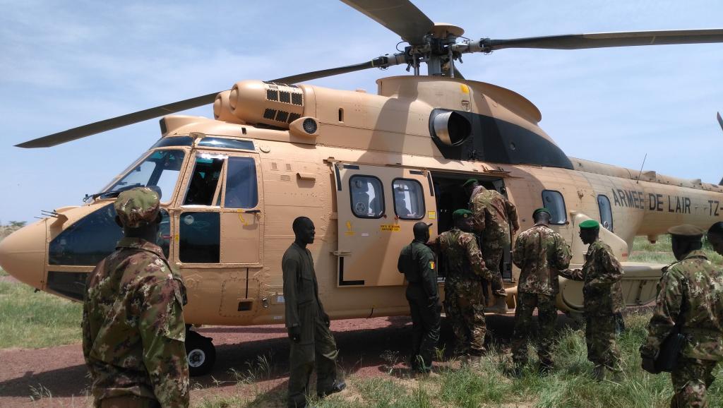 كتيبة مالي المشاركة في القوة الإفريقية المشتركة.