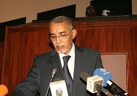 الوزير الأول الموريتاني يحي ولد حدمين
