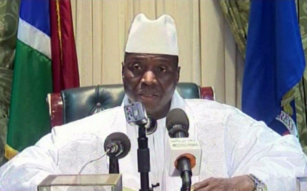 الرئيس الغامبي السابق يحيى جامي