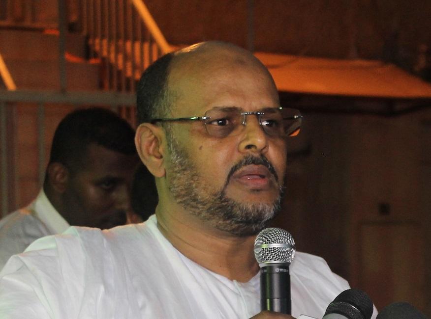 محمد جميل ولد منصور الرئيس السابق لحزب تواصل.