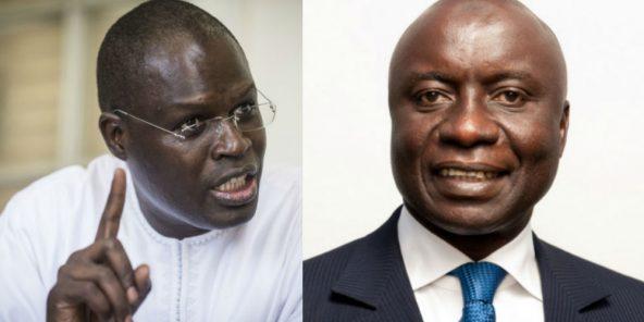 إدريسا سك المترشح للرئاسة السنغالية والخليفة صال العمدة السابق لداكار المعتقل.