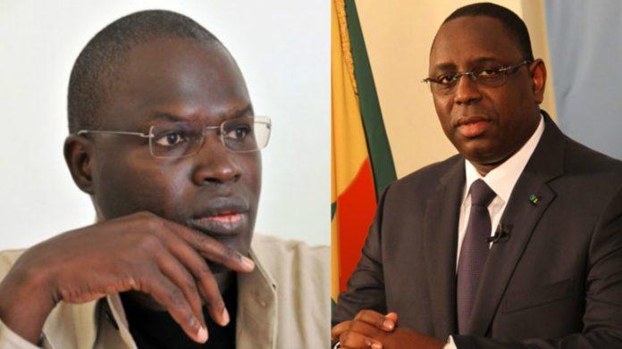 الرئيس السنغالي ماكي صال والمعارض المفرج عنه الخليفة صال