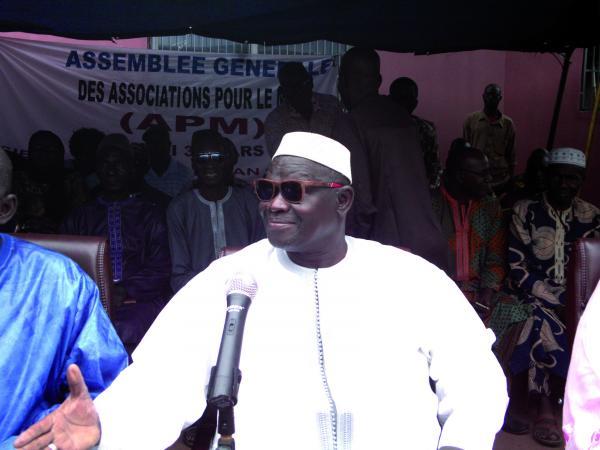 محمد عالي باتيلي المترشح للانتخابات الرئاسية في مالي.