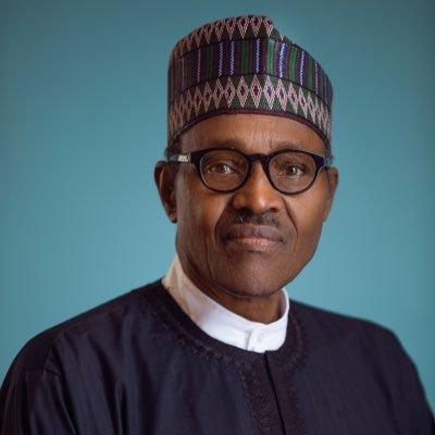 محمدو بخاري: رئيس نيجيريا.