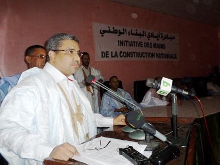الأمين التنفيذي في حزب الاتحاد من أجل الجمهورية الحاكم الشاش ولد ديه