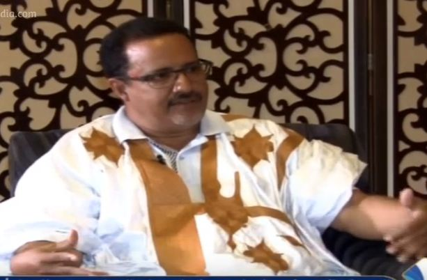 رئيس لجنة الأزمة المشكلة من أعضاء مجلس الشيوخ الموريتاني وشيخ باسكنو الشيخ ولد حننا
