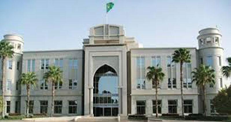 مبنى القصر الرئاسي بالعاصمة نواكشوط