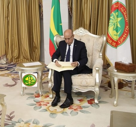 الرئيس الموريتاني محمد ولد الغزواني (وما)