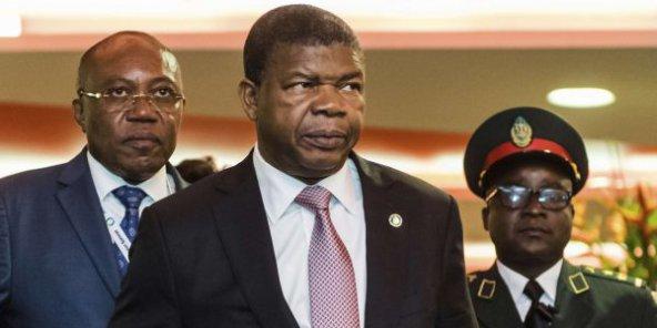 الرئيس الأنغولي جواوو لورنشو.