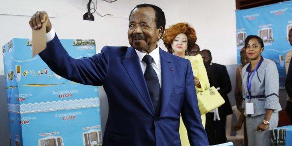بول بيا الرئيس الكاميروني المنتخب لمأمورية رئاسية سابعة.