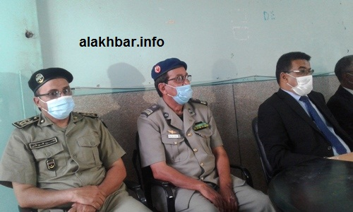 جانب من حضور قائد الحرس ومدير الأمن الجهوي في التظاهرة / الأخبار