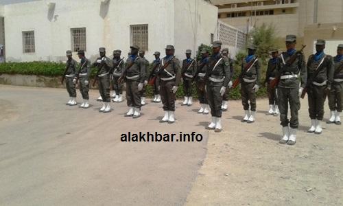 أدت وحدة الحرس تحية للبعثة الوزارية لحظة وصولها إلى مبنى الولاية / الأخبار