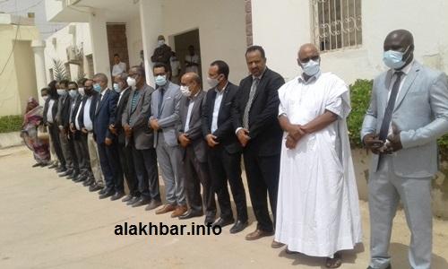 كان مستشارو الوالي ورؤساء المصالح الجهوية في استقبال البعثة الوزارية/ الأخبار