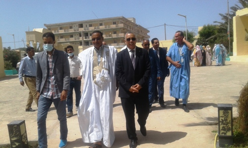 زار الوفد الحقوقي بلدية نواذيبو/ الأخبار