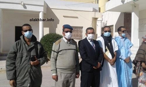 المنتخبون وقادة الحرس الدرك في انطلاق الحملة/ الأخبار