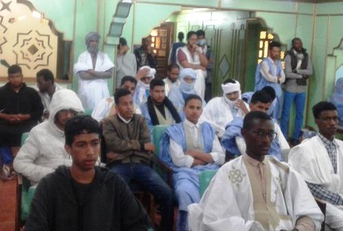 جانب من حضور المشاركين من الشباب / الأخبار