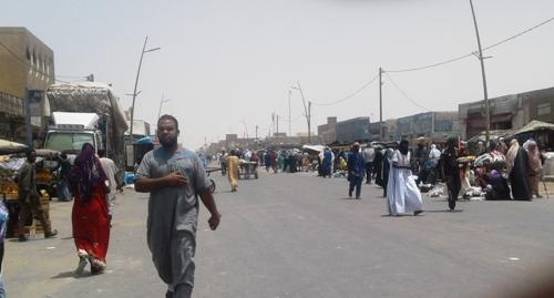 تم اغلاق مداخل سوق الرابعة في النمروات/ الأخبار