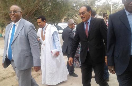 حط الوفد البرلماني الرحال في المعهد الموريتاني لبحوث الصيد والمحيطات / الأخبار
