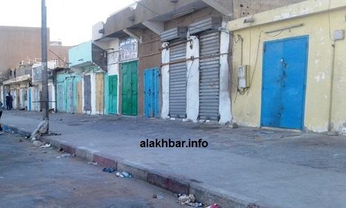 تم إحكام إغلاق المحلات التجارية في المدينة بعد حظر التجوال / الأخبار