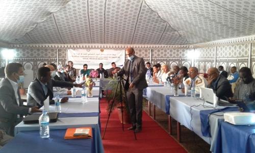 جانب من الملتقى المنعقد في نواذيبو والذي أسفر عن تشكيل لجنة قيادة مشتركة/ الأخبار