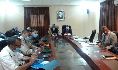 جانب من اجتماع السلطات الثلثاء مع الفاعلين في المجتمع المدني والأحزاب حول الخطة الأمنية/ الأخبار