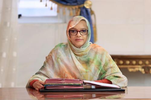 وزيرة البيئة والتنمية المستدامةمريم بكاي (وما)