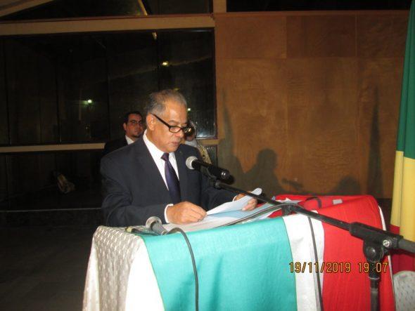 السفير الجزائري الجديد محمد بن عتو