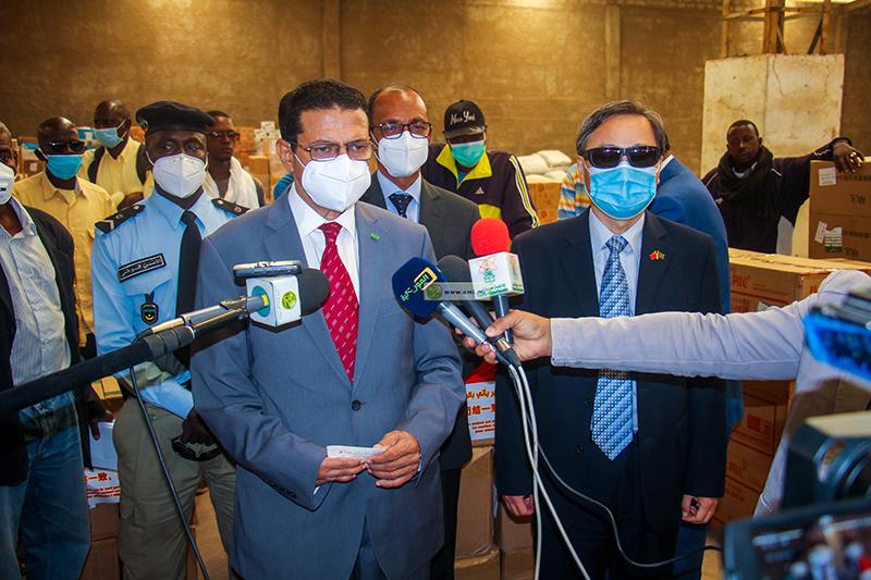 وزير الصحة يتحدث عن عدد المحجوزين صحيا في نواكشوط