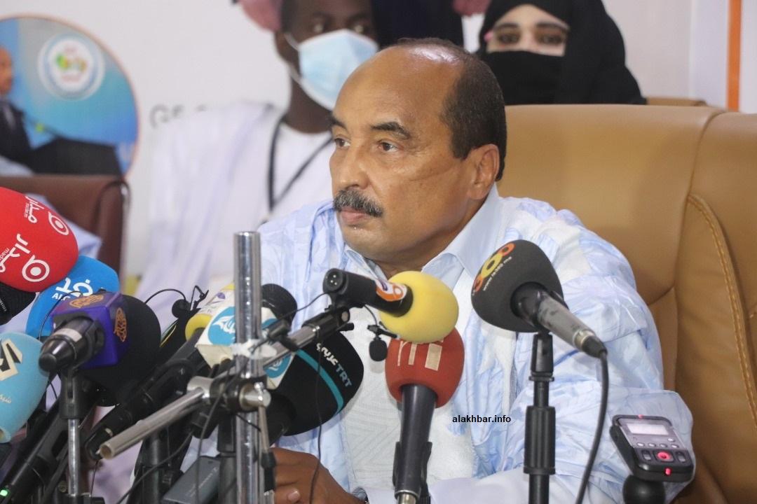 الرئيس السابق محمد ولد عبد العزيز (الأخبار - أرشيف)