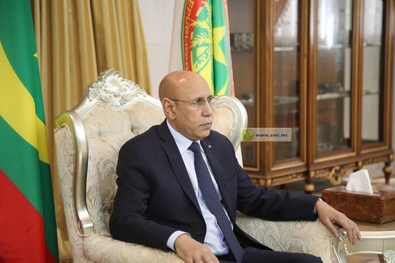 الرئيس محمد ولد الغزواني (وما)