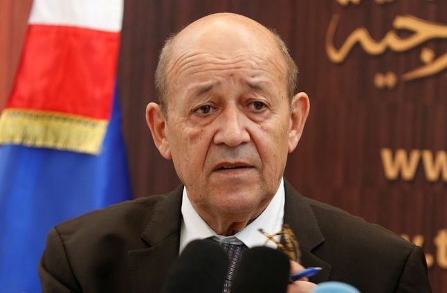 وزير الخارجية الفرنسي جان أيف لودريان