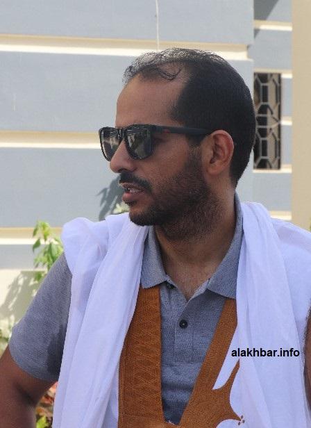 محمد ولد امصبوع زوج أسماء بنت الرئيس السابق محمد ولد عبد العزيز (الأخبار)