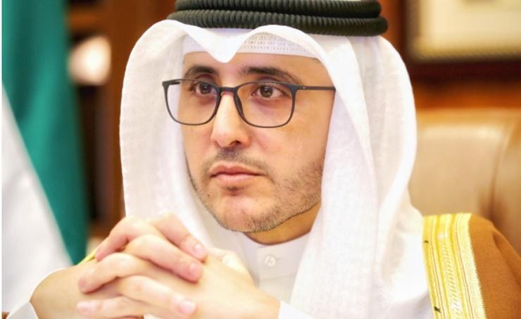 وزير الخارجية الكويتي أحمد ناصر المحمد الصباح