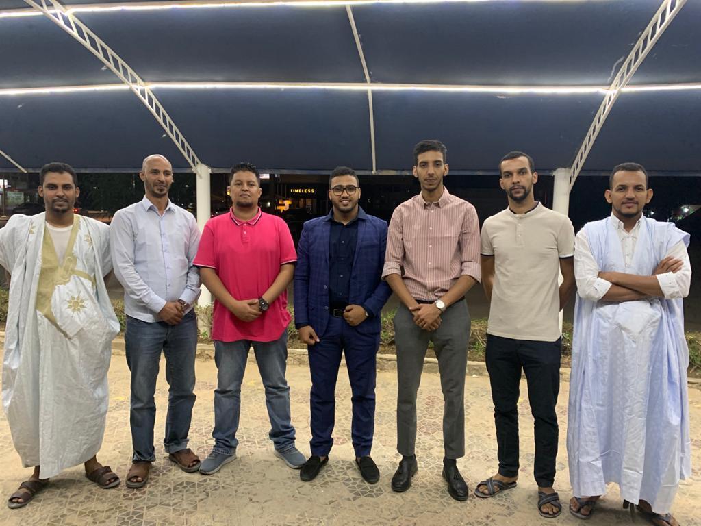 أعضاء في الشبكة الجديدة للبتروليين الموريتانيين