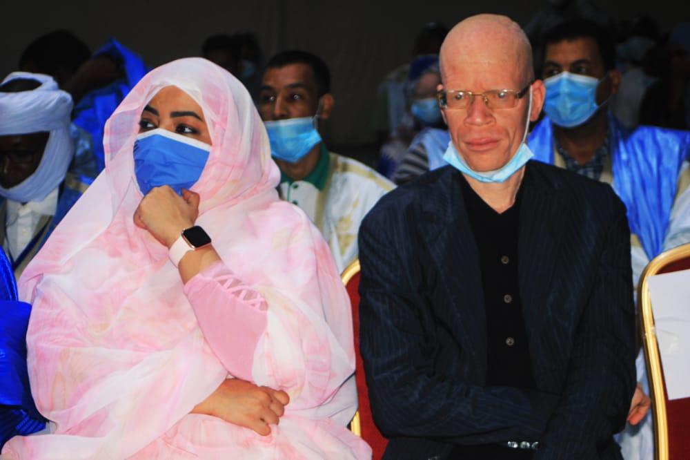 جهة نواكشوط تبدي استعدادها لدعم دمج المصابين بالمهق