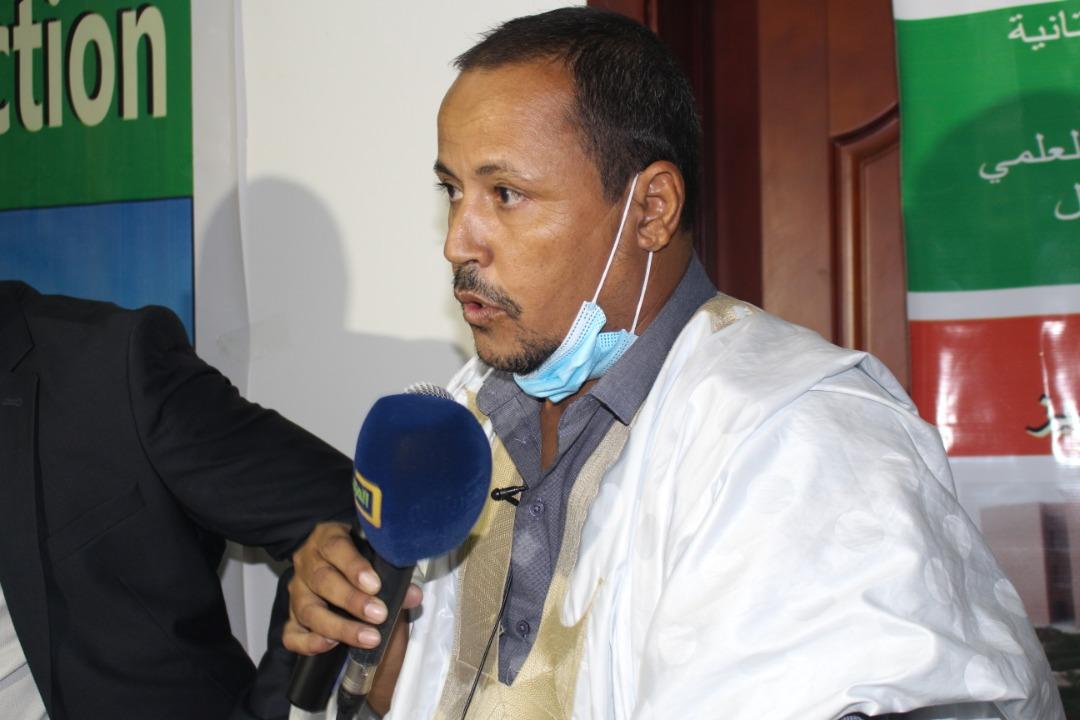 عميد كليةالعلوم والتقنيات في جامعة نواكشوط العصرية الدكتور محمد سعيد ولد محمد سيديا