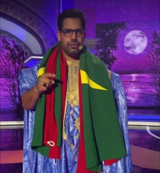 ممثل موريتانيا في مسابقة أمير الشعراء محمد المامي محمد حامد حميدي