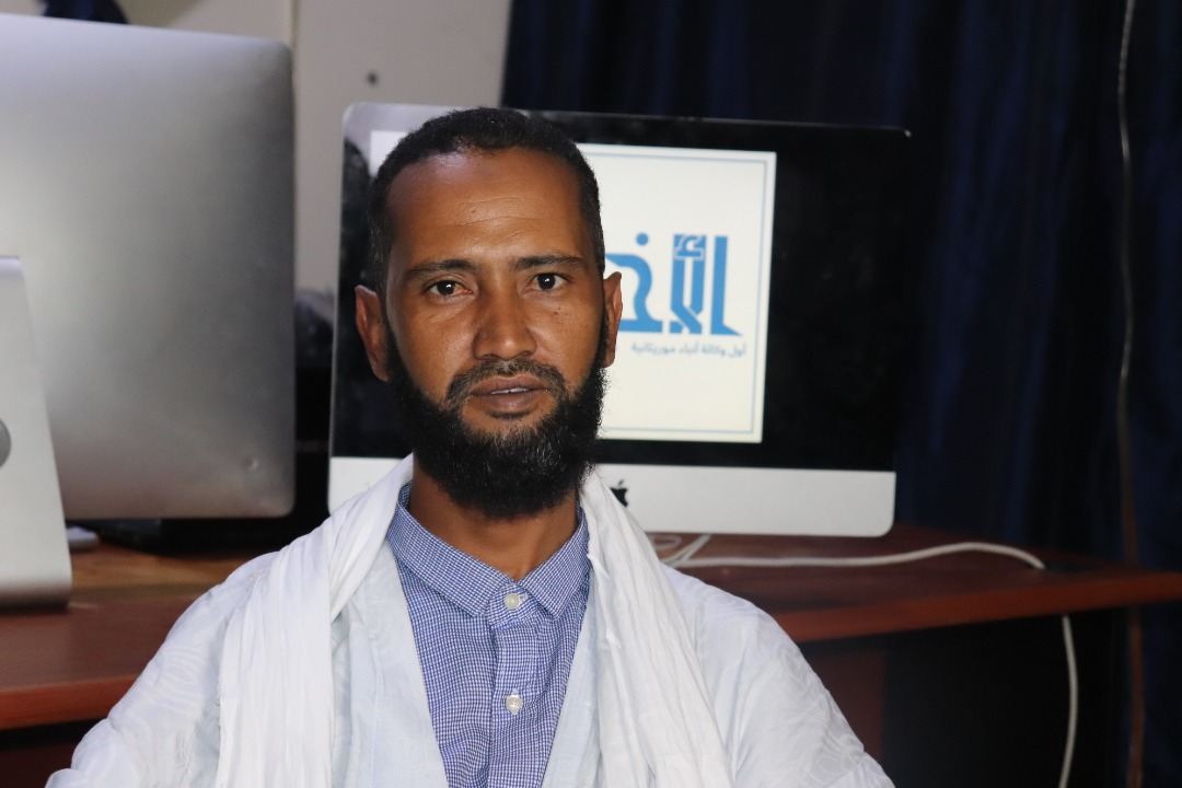 رئيس نقابة الخياطين الموريتانيين الصادق ولد سيدي المصطف