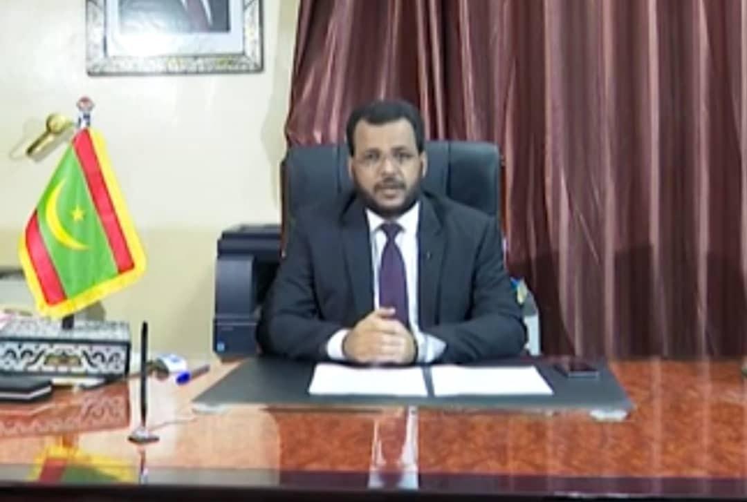 وزير الشؤون الإسلامية والتعليم الأصلي الداه سيدي أعمر طالب