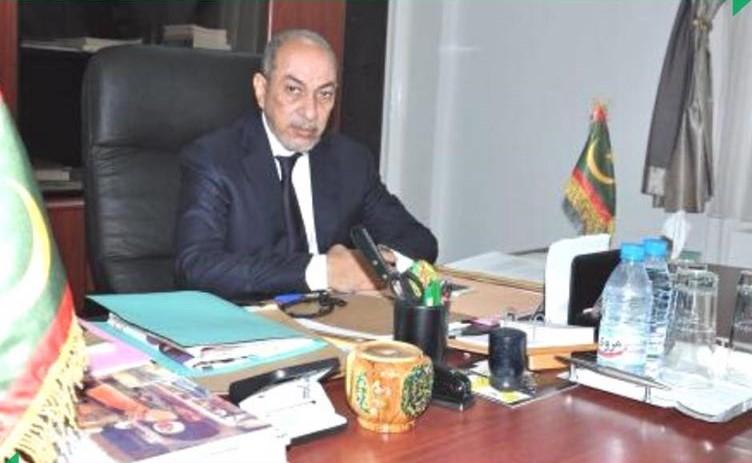 وزير العدل الدكتور محمد محمود الشيخ عبد الله بيه