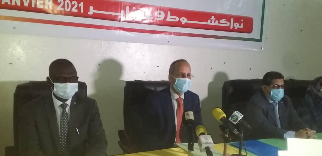 وزير التهذيب الوطني خلال افتتاح الورشة اليوم