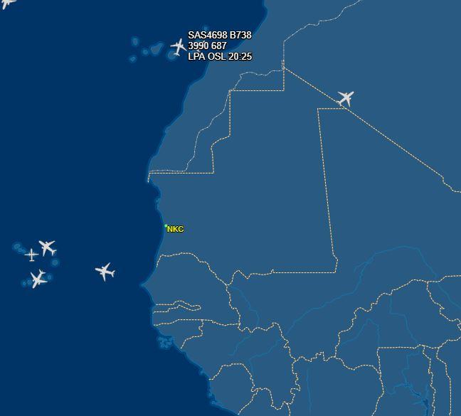 أجواء مطار نواكشوط اليوم