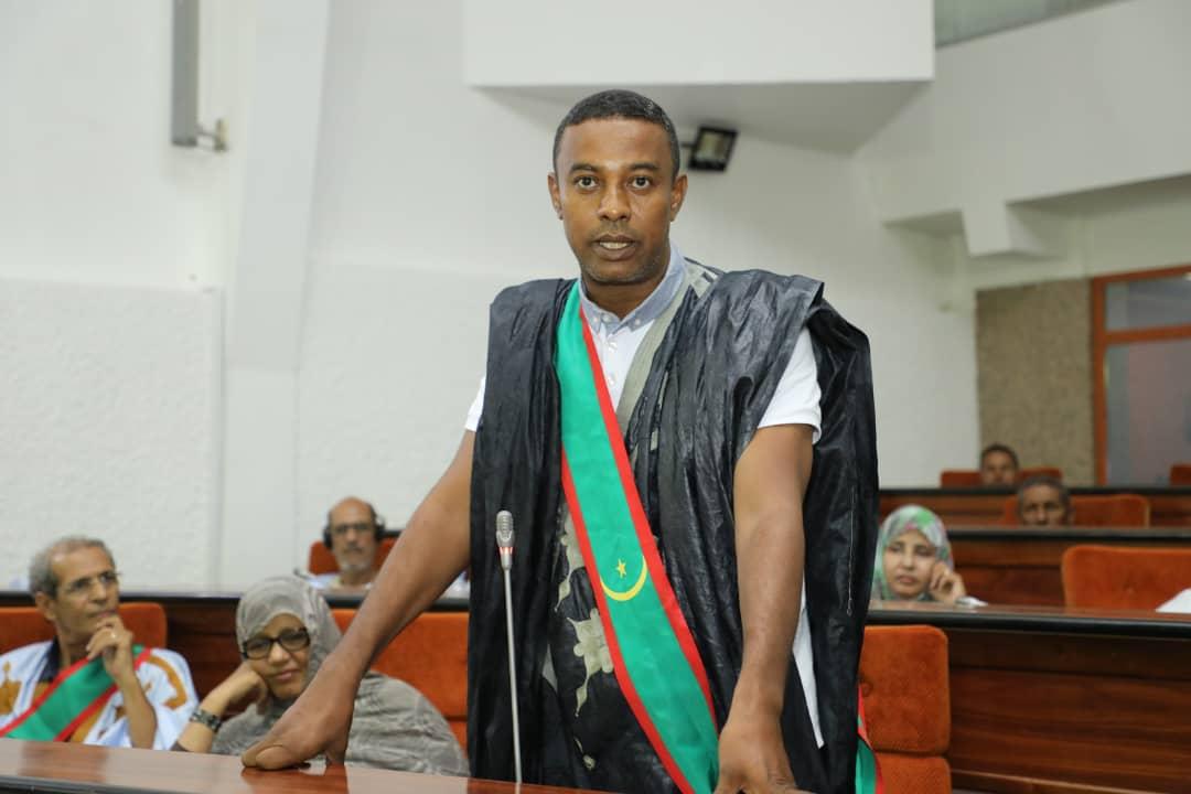 النائب البرلماني عن مقاطعة كوبني موسى ابوه سيدي أعمر